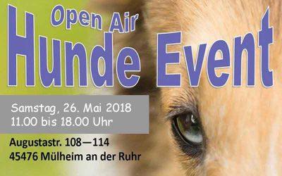 Vorankündigung: Open Air Hunde Event in Mülheim