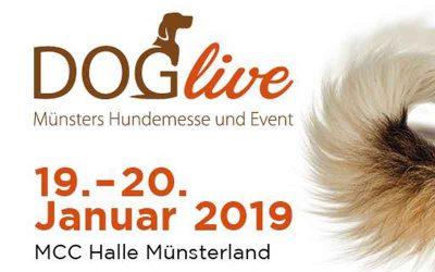 Vorankündigung: DogLive am 19./20. Januar 2019