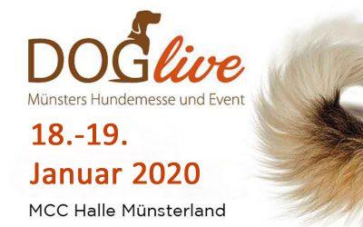 Vorankündigung: DogLive in Münster am 18./19. Januar 2020